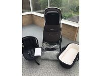 Silver cross pioneer full travel system