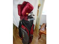 Golf Clubs: Ladies Petron Golf Clubs and Bag