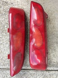 Fiat Seicento rear light clusters