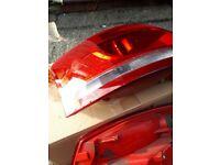 Audi A4 S4 convertible rear lights
