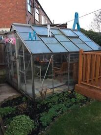 Greenhouse 8 x 10 with 2 Auto windows