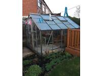 Greenhouse 8 x 10 with 2 Auto windows