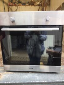 Logik Single Electric Fan Assisted Oven New and Unused