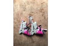 Girls roller skates size 3-6