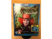 Alice in Wonderland Blu-Ray & DVD