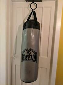 BRYAN 3ft punch bag with gloves, wrist wraps and ceiling fitting