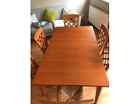 Dinning Room Table + 6 Chairs