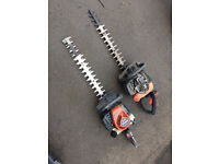 Two Petrol Hedge Trimmers (Not Running) Spares & Repair