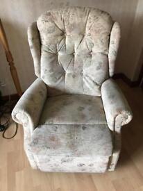 Celebrity riser recliner chair