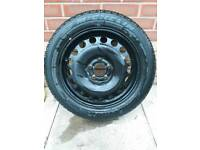 Vauxhall / Michelin wheel & tyre
