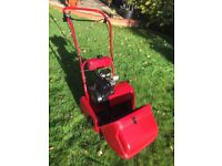 Suffolk Punch 14s / Qualcast 35s mower and scarifier