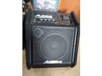 Alesis transactive drummer 50w Electric Drum amplifier (Built in IPOD Dock)