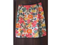 Boden floral skirt 20L