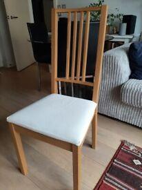 IKEA Borje dining chairs x 4