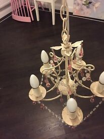 3x Laura Ashley Chandeliers £40 each