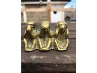 3 brass monkey