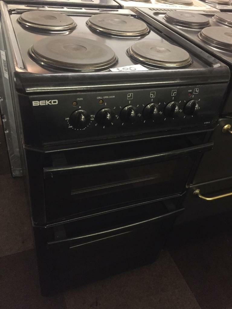BEKO 50CM ELECTRIC COOKER IN BLACK. Wolverhampton ... 9feaf1e142bb5