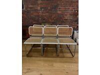 Mid Century Retro Vintage Dining Chair Set x 6