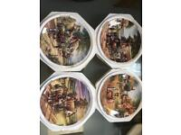 Country days limited edition Wedgwood plates