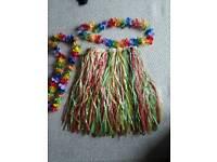 Grass skirt Set