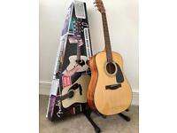 New Fender Acoustic Guitar with extras