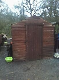 Shed £25 now free £00