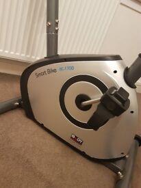 Exercise bike, hardly used