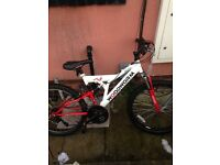 "Woodworm gxi 26"" bike"