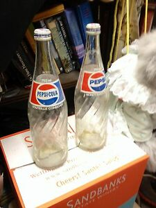 PEPSI COLA 750 oz GLASS BOTTLES reduced Belleville Belleville Area image 1