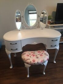 Vintage/Antique Upcycled Kidkey Dressing Table