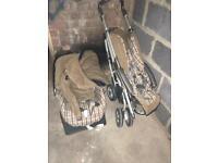 Mamas and papas matching pushchair and car seat unit