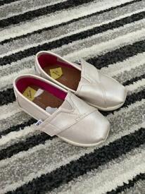 Glitter tom shoes