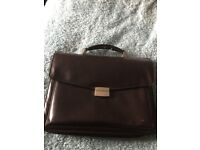 Lether style Briefcase /PC Bag