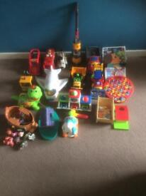 Big bundle of kids toys