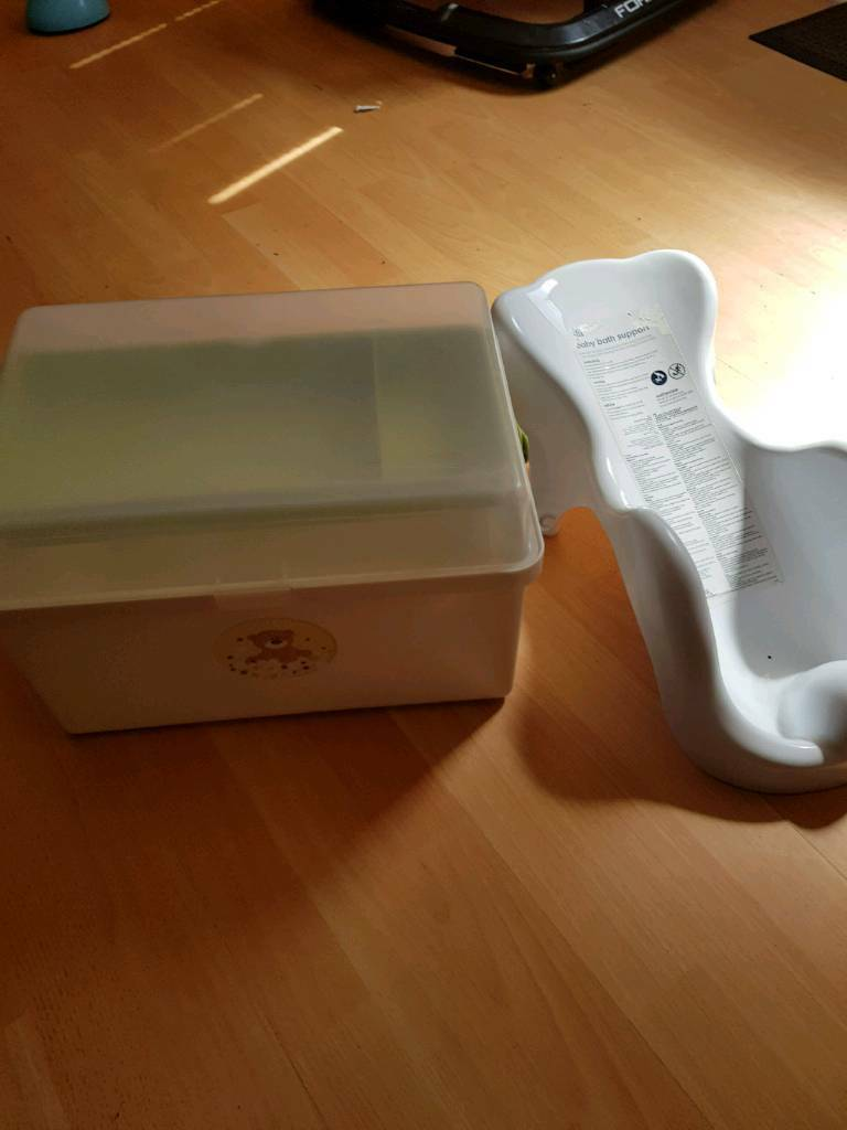 Babies essentials box and Babies support seat for bath. | in Norwich ...