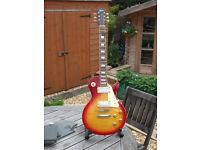 Tokia Les Paul / Love Rock Sunburst guitar