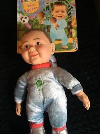 Baby jake toy and book