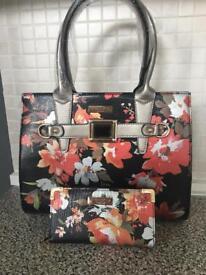 Designer bag and purse sets