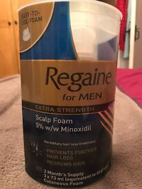 3 pack of Regaine for Men (unopened)