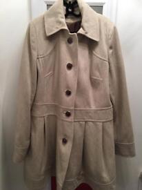 River Island coat (£20)