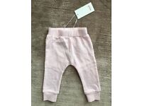 NEW pink kitty legging 6-12 months