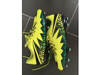 Nike hypervenom football boots.