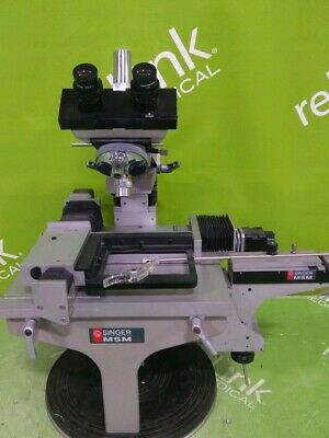Singer Msm System 400 Tetrad Dissection Microscope