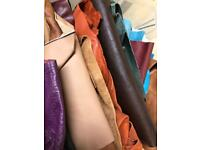 Craft leather pieces
