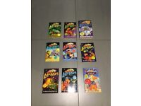 9 x Astrosaurs by Steve Cole books in Excellent Condition