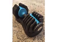 Men's Health Adjustable Dumbbell 25kg - Single
