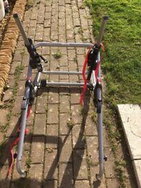 High mount rear bike carrier
