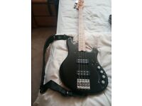 Fender american dimension deluxe active bass