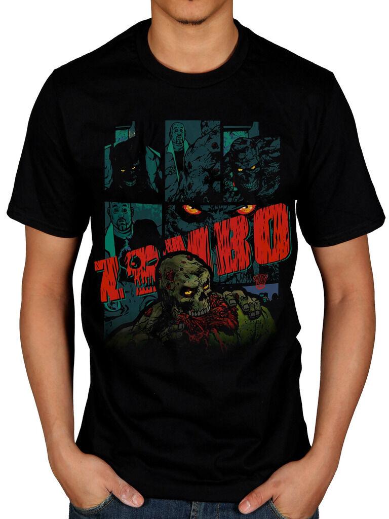 Officiel 2000 ad abc warriors unisexe t-shirt comics série judge dredd hardware