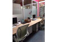 Full-time desk spaces available - Brighton, Preston Circus